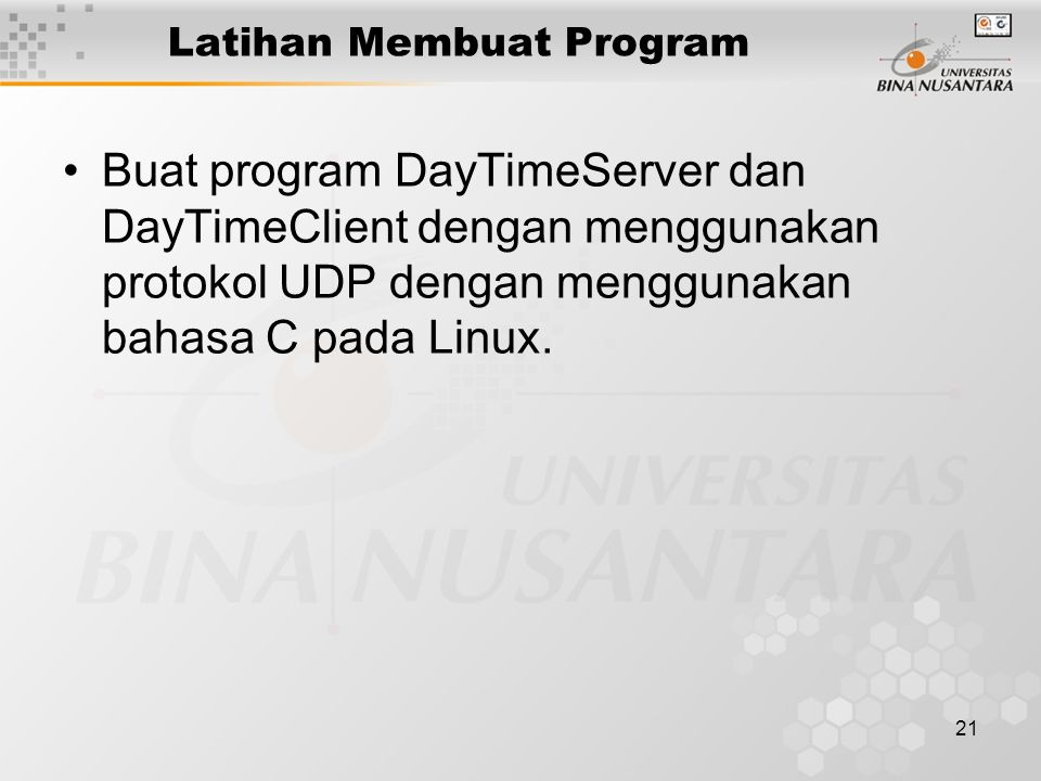 Latihan Membuat Program
