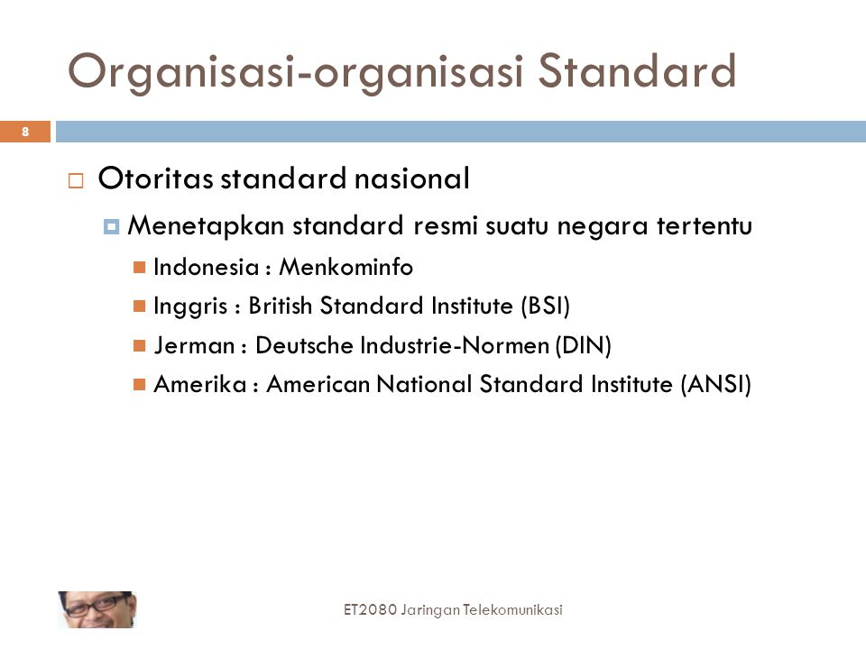 Organisasi-organisasi Standard