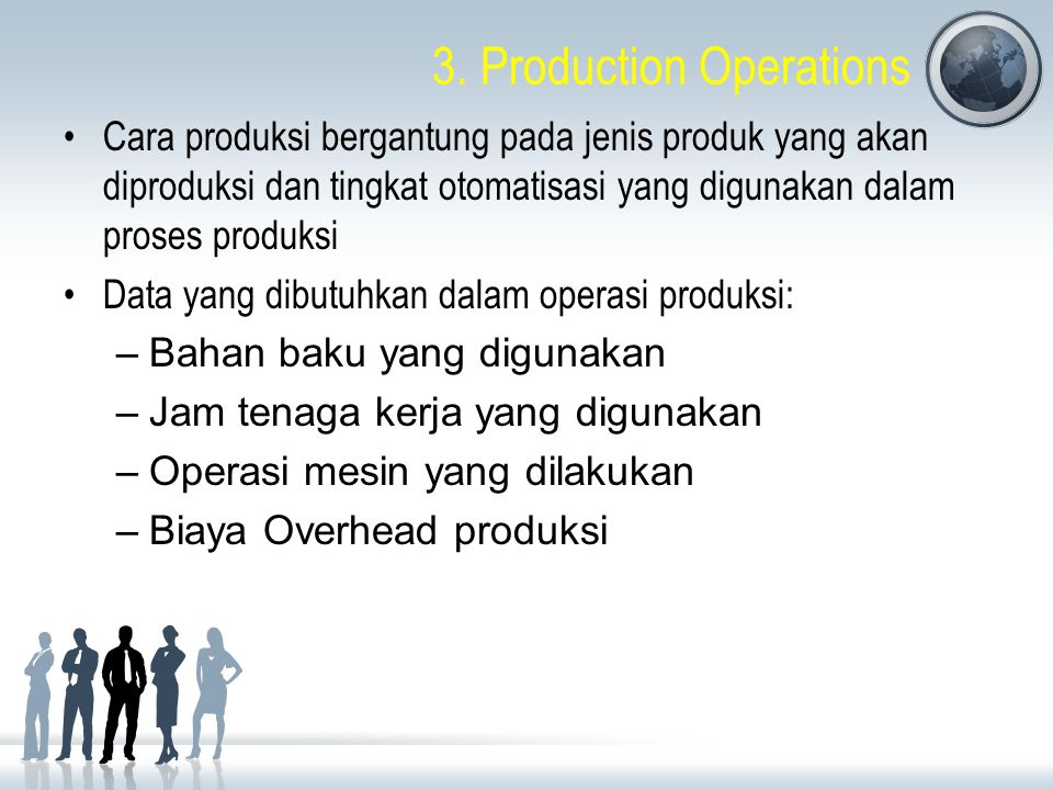 3. Production Operations