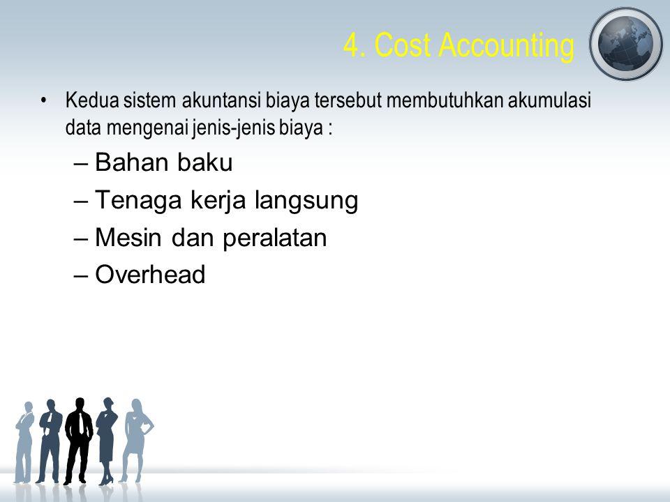 4. Cost Accounting Bahan baku Tenaga kerja langsung