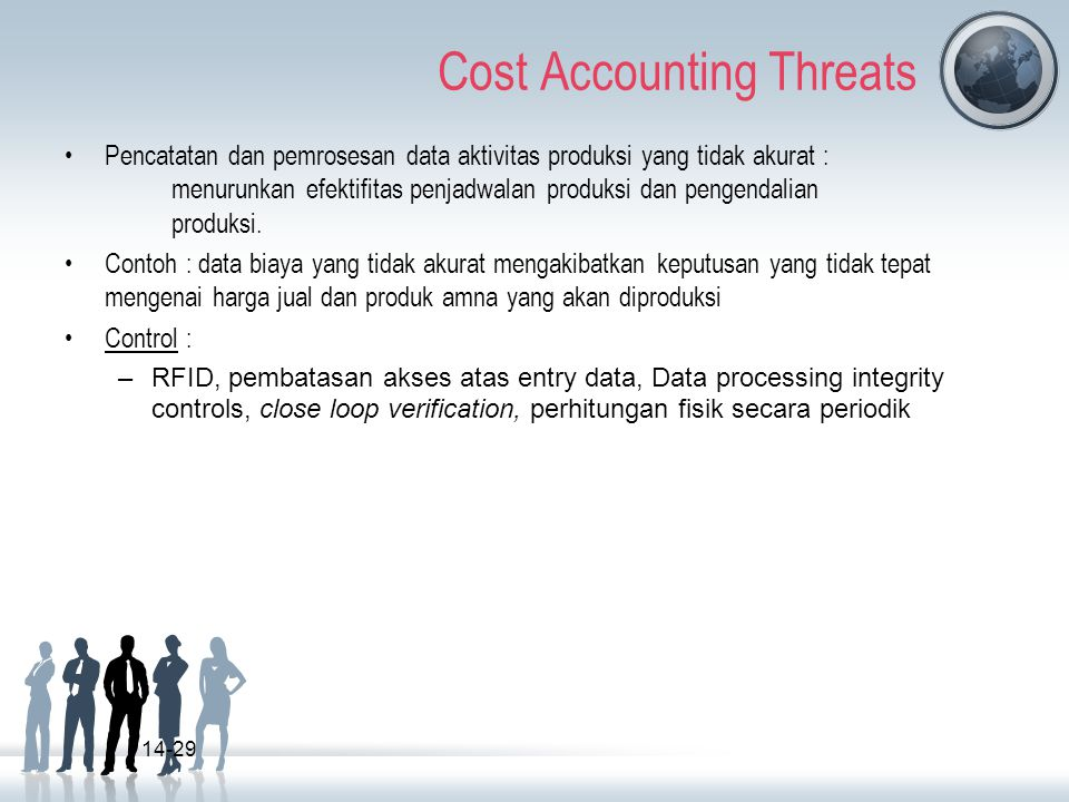 Cost Accounting Threats