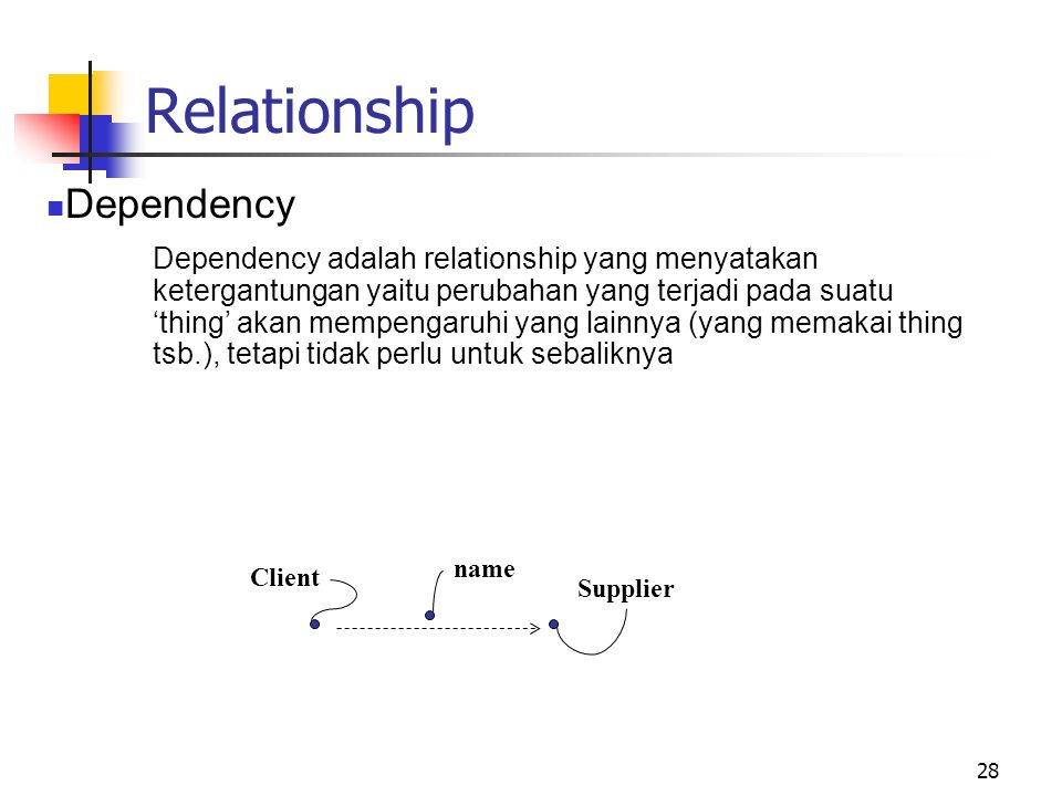 Relationship Dependency