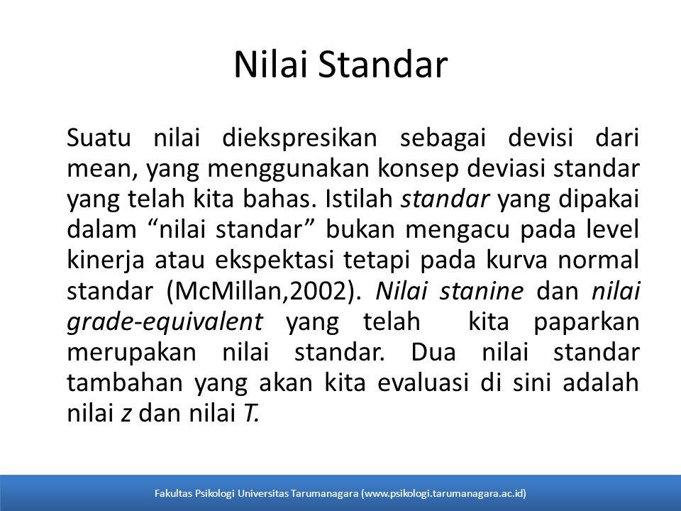 Nilai Standar