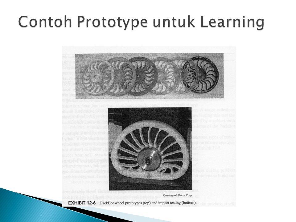 Contoh Prototype untuk Learning