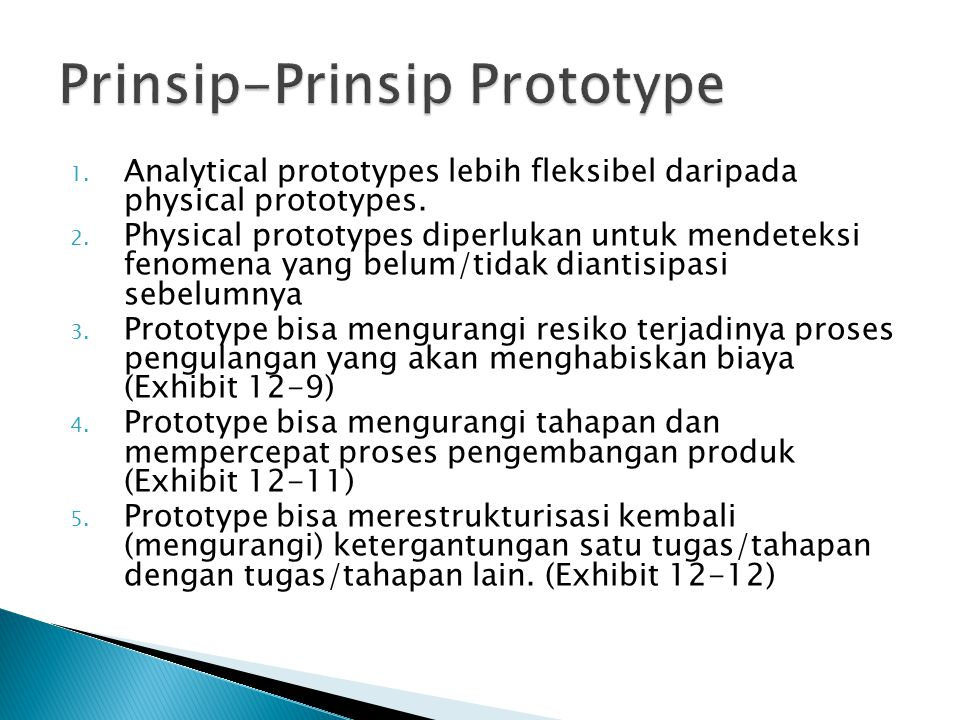 Prinsip-Prinsip Prototype
