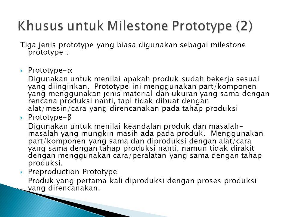 Khusus untuk Milestone Prototype (2)