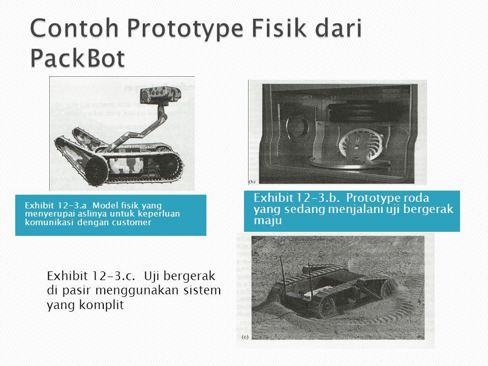 Contoh Prototype Fisik dari PackBot
