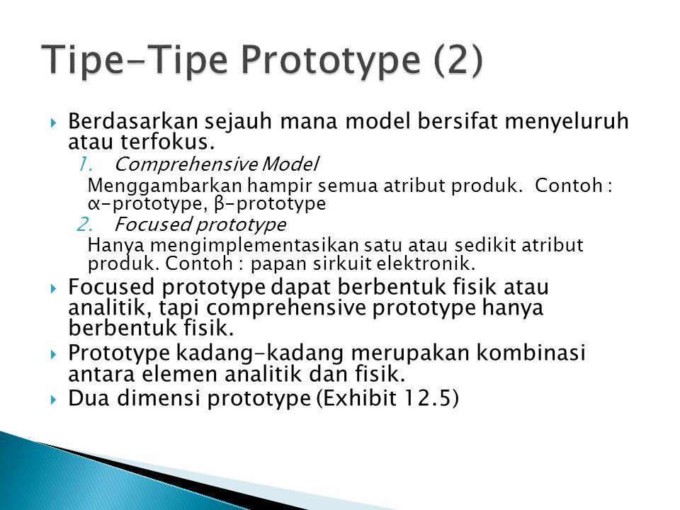 Tipe-Tipe Prototype (2)