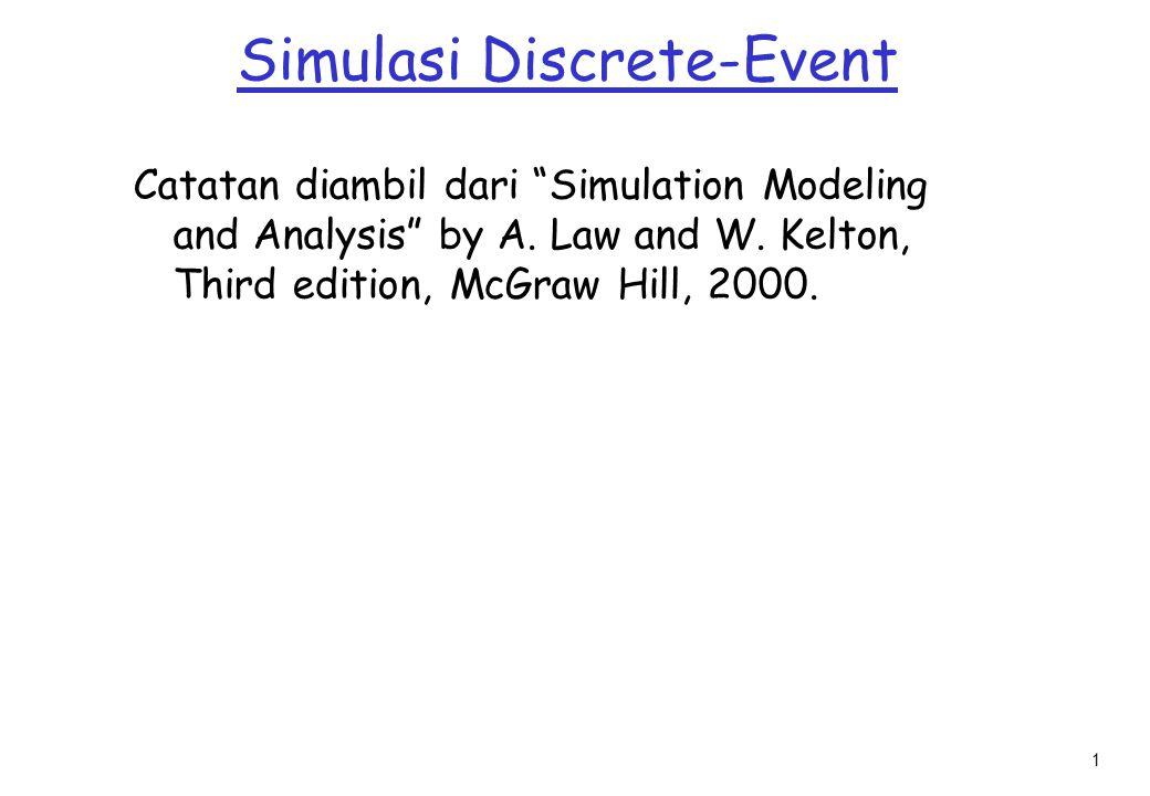 Simulasi Discrete-Event