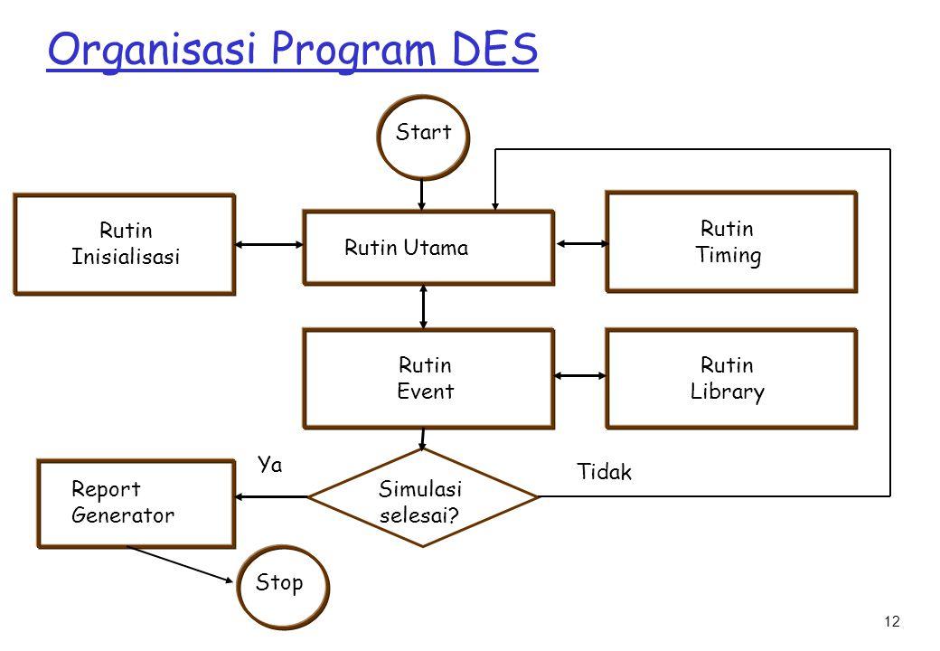 Organisasi Program DES