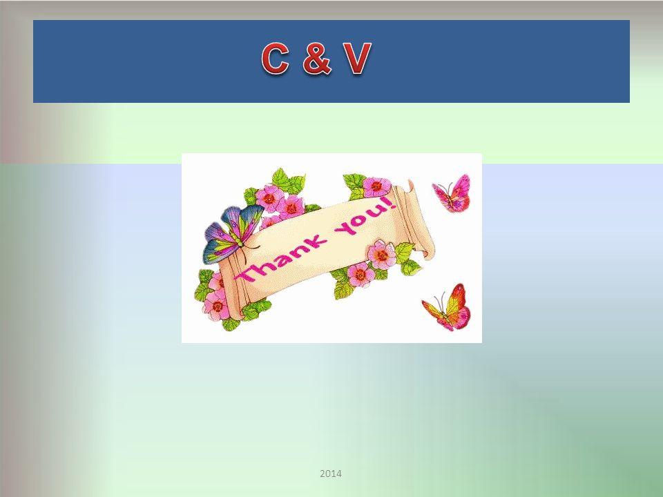 C & V 2014