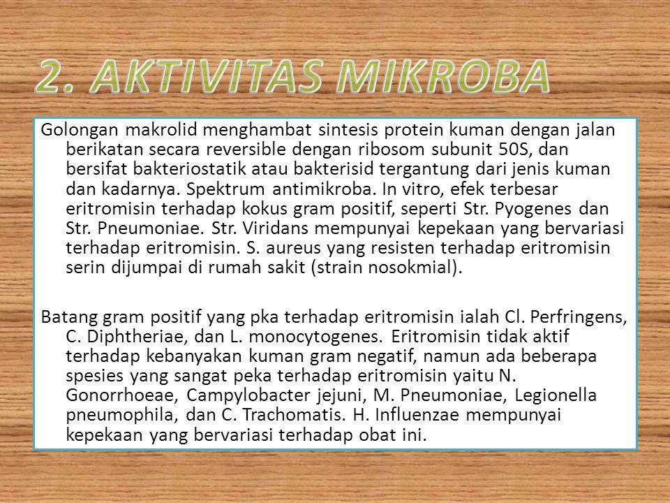 2. AKTIVITAS MIKROBA