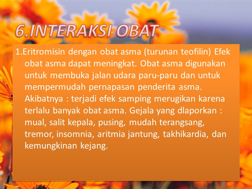 6.INTERAKSI OBAT