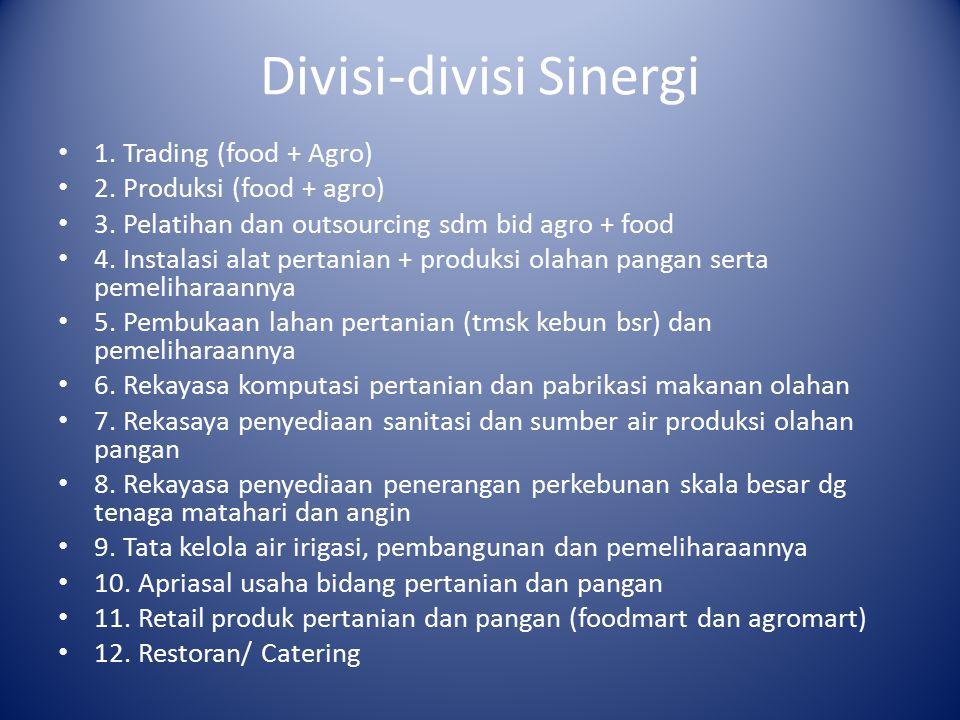 Divisi-divisi Sinergi
