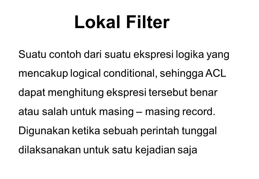 Lokal Filter