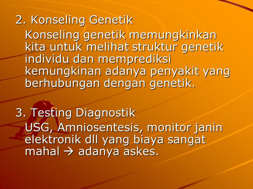 2. Konseling Genetik