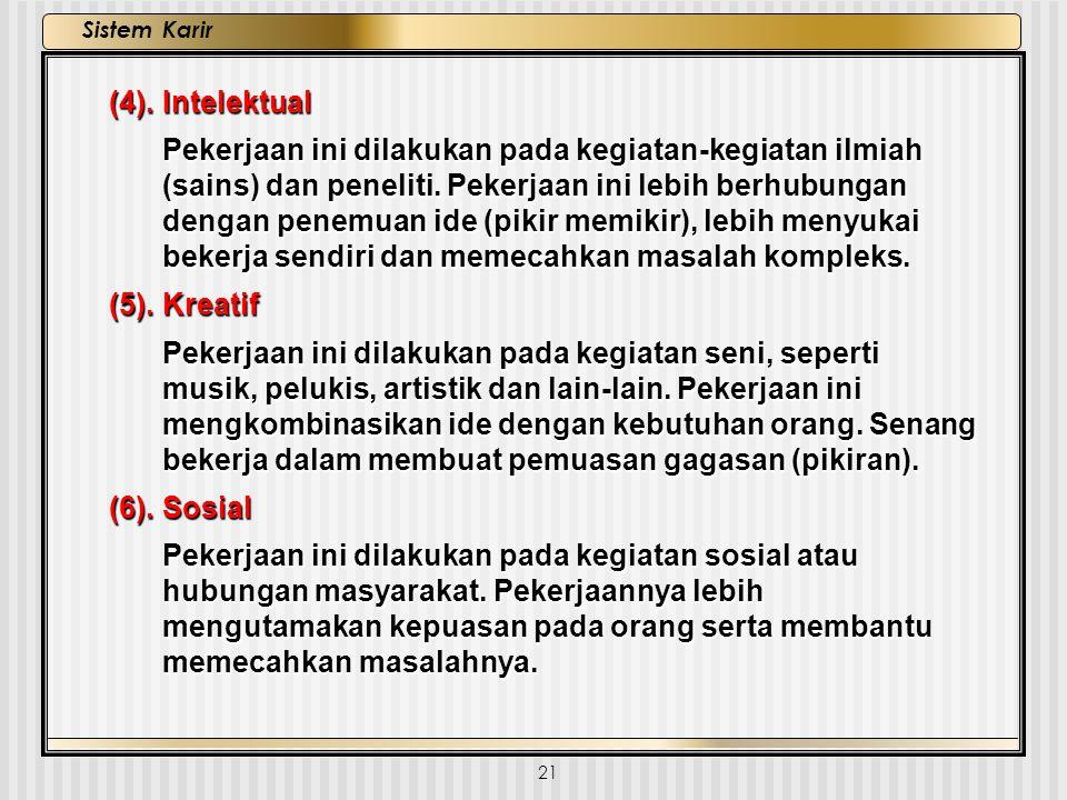 (4). Intelektual