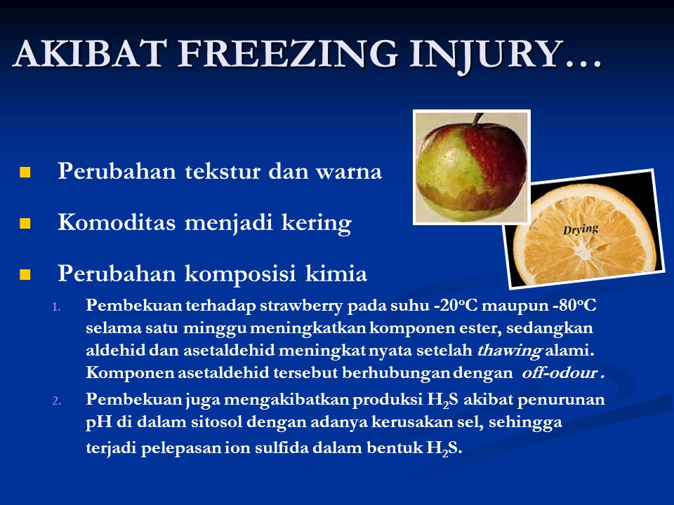 AKIBAT FREEZING INJURY…