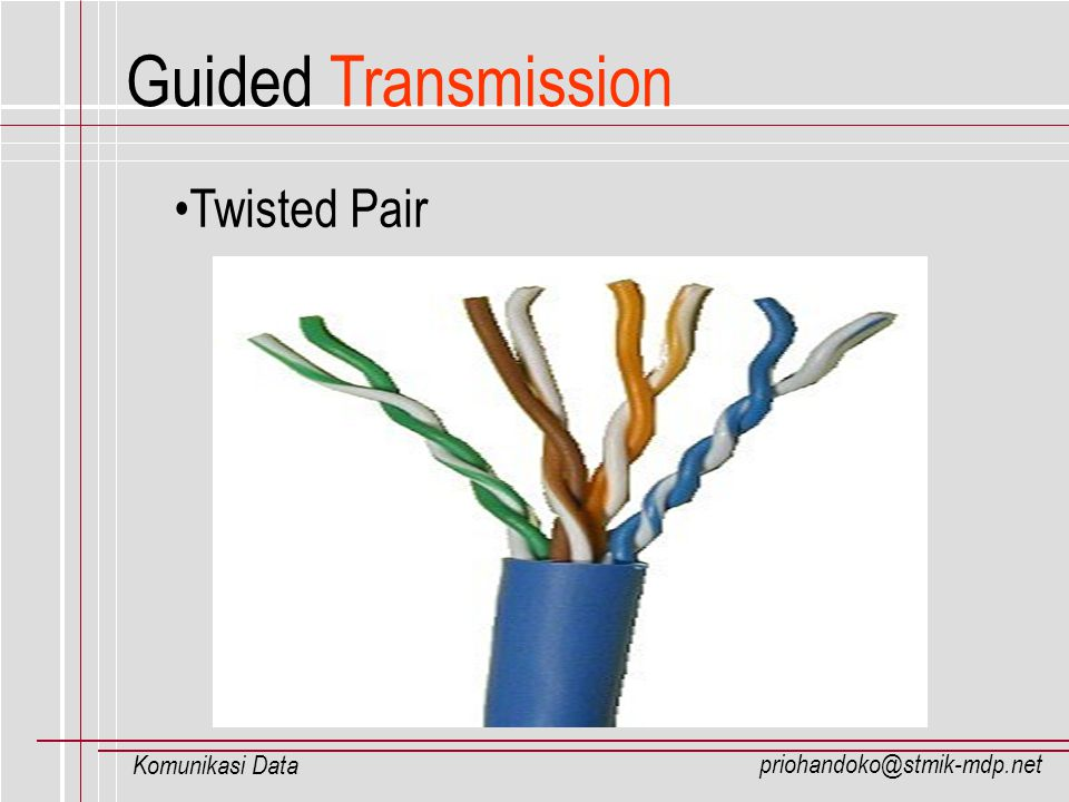 Guided Transmission Twisted Pair