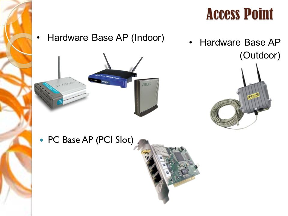 Access Point Hardware Base AP (Indoor) Hardware Base AP (Outdoor)