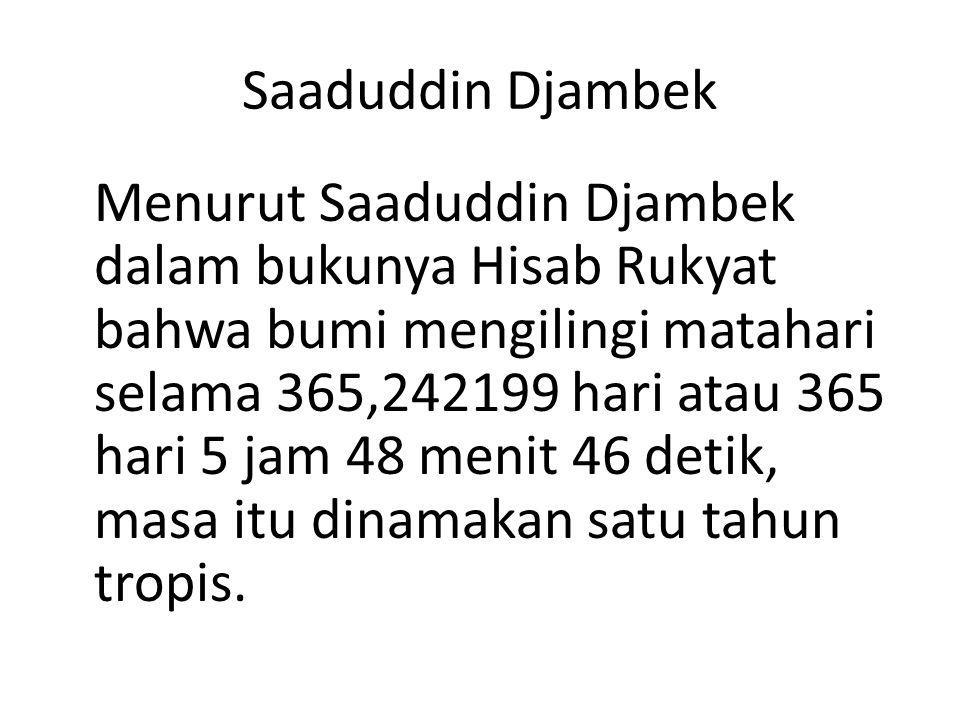 Saaduddin Djambek