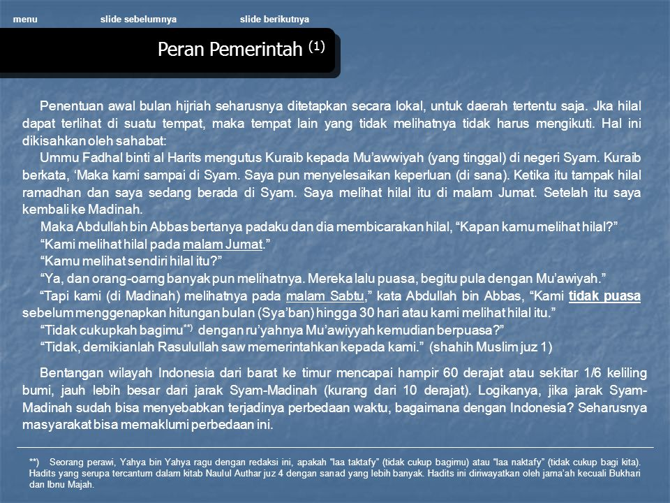 menu slide sebelumnya. slide berikutnya. Peran Pemerintah (1)