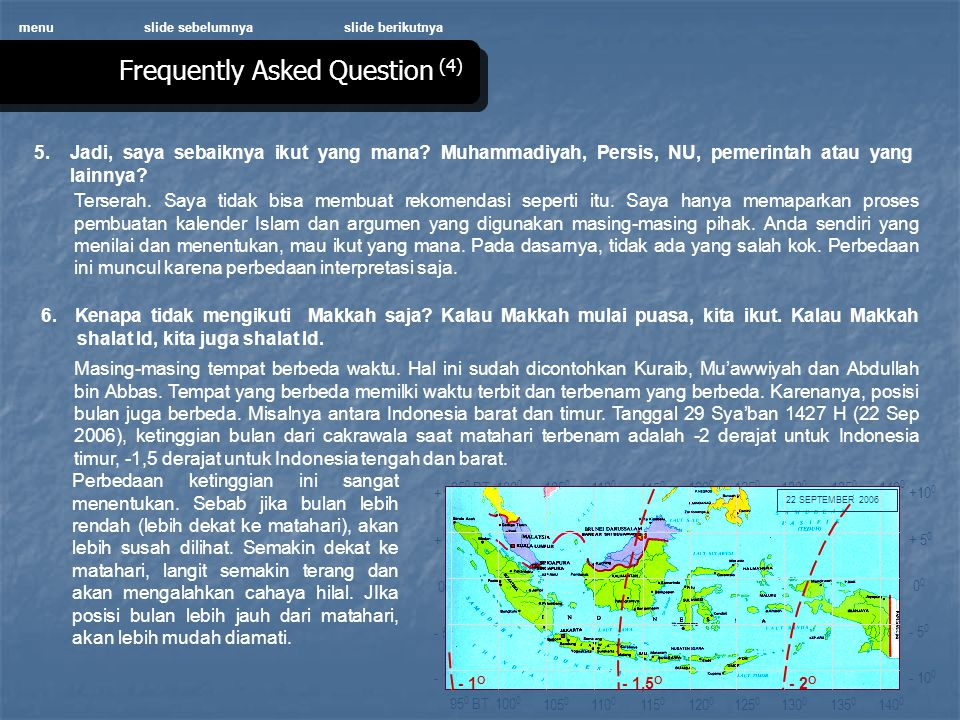 Frequently Asked Question (4)