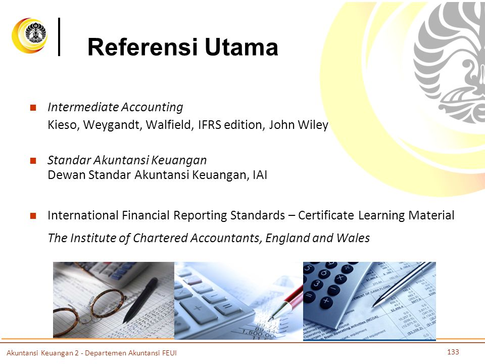 Referensi Utama Intermediate Accounting