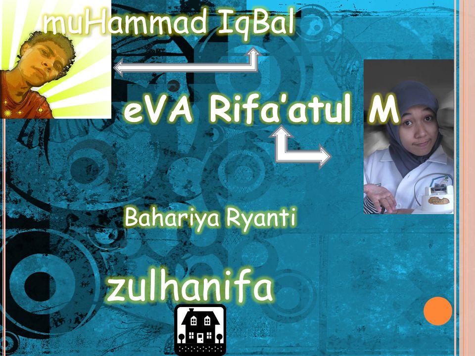 muHammad IqBal eVA Rifa'atul M TEKNOLOGI DNA Bahariya Ryanti zulhanifa