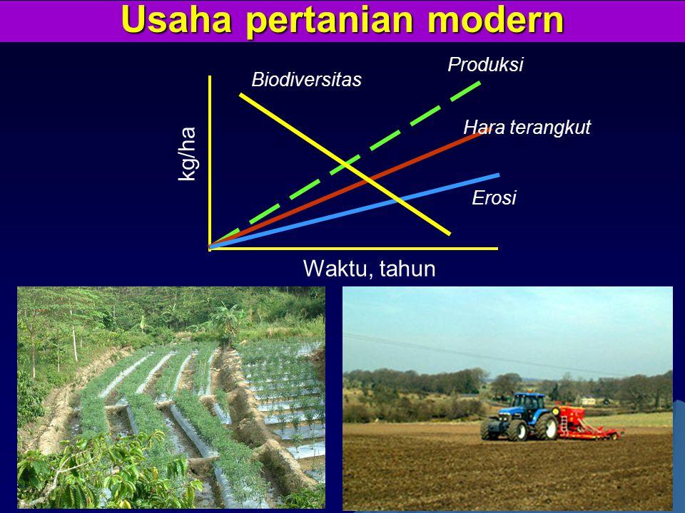 Usaha pertanian modern