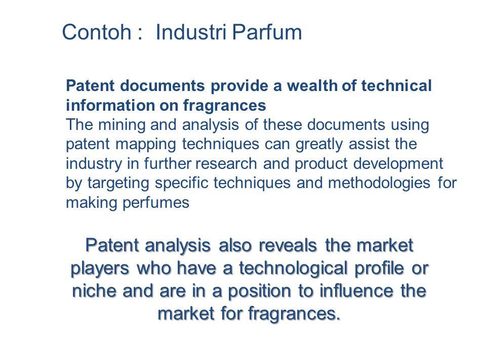 Contoh : Industri Parfum
