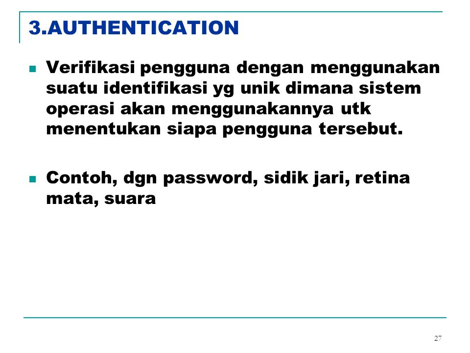 3.AUTHENTICATION