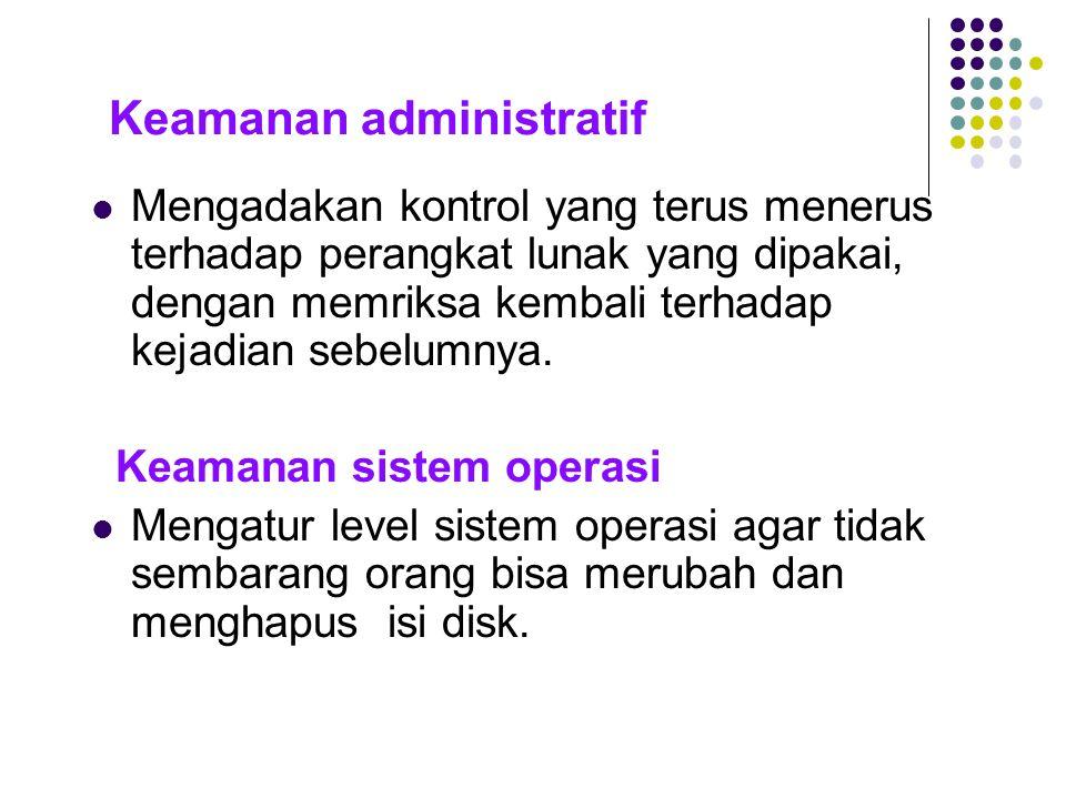 Keamanan administratif