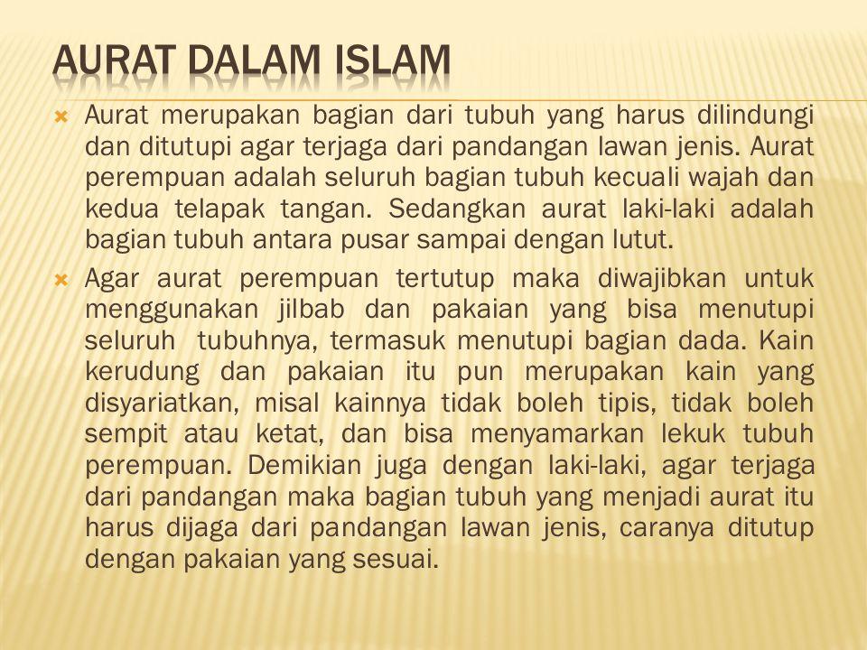 AURAT DALAM ISLAM