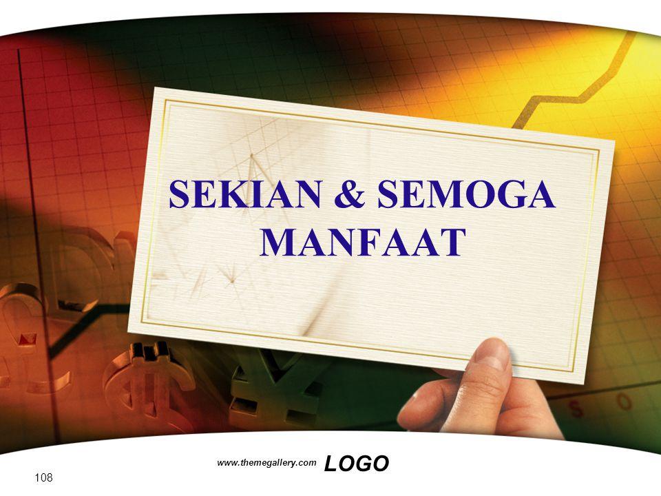 SEKIAN & SEMOGA MANFAAT