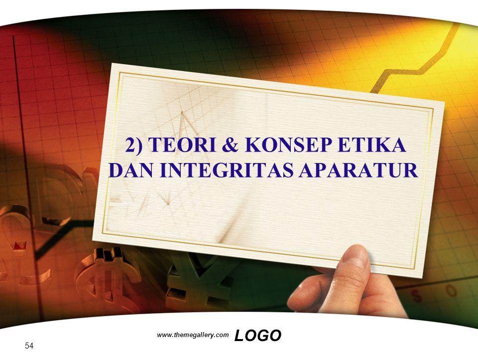2) TEORI & KONSEP ETIKA DAN INTEGRITAS APARATUR