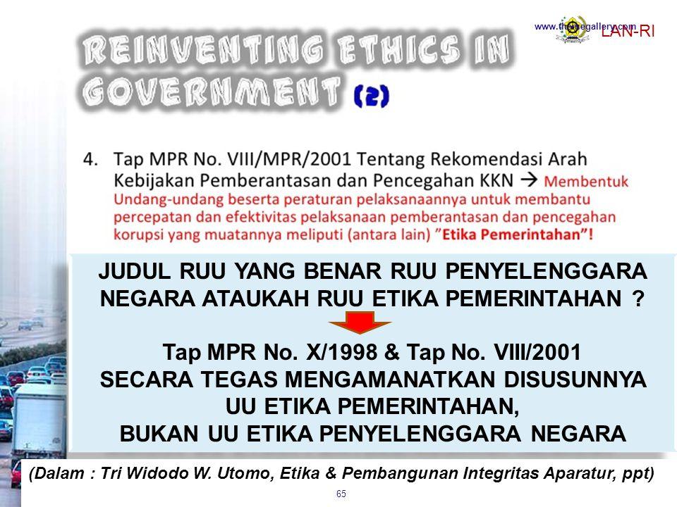 Tap MPR No. X/1998 & Tap No. VIII/2001