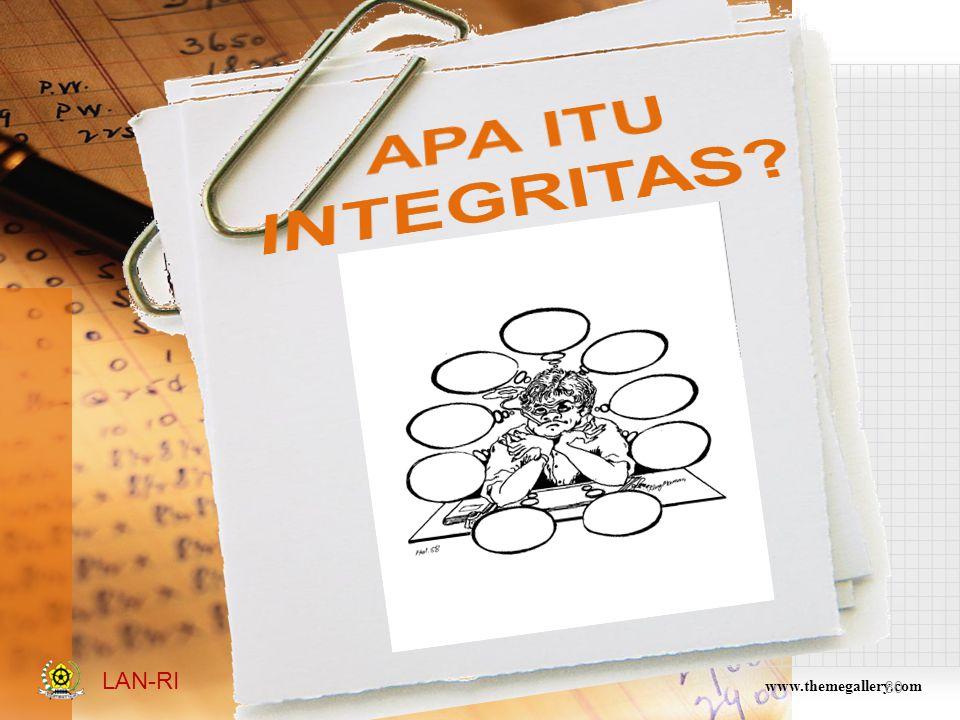 APA ITU INTEGRITAS LAN-RI www.themegallery.com