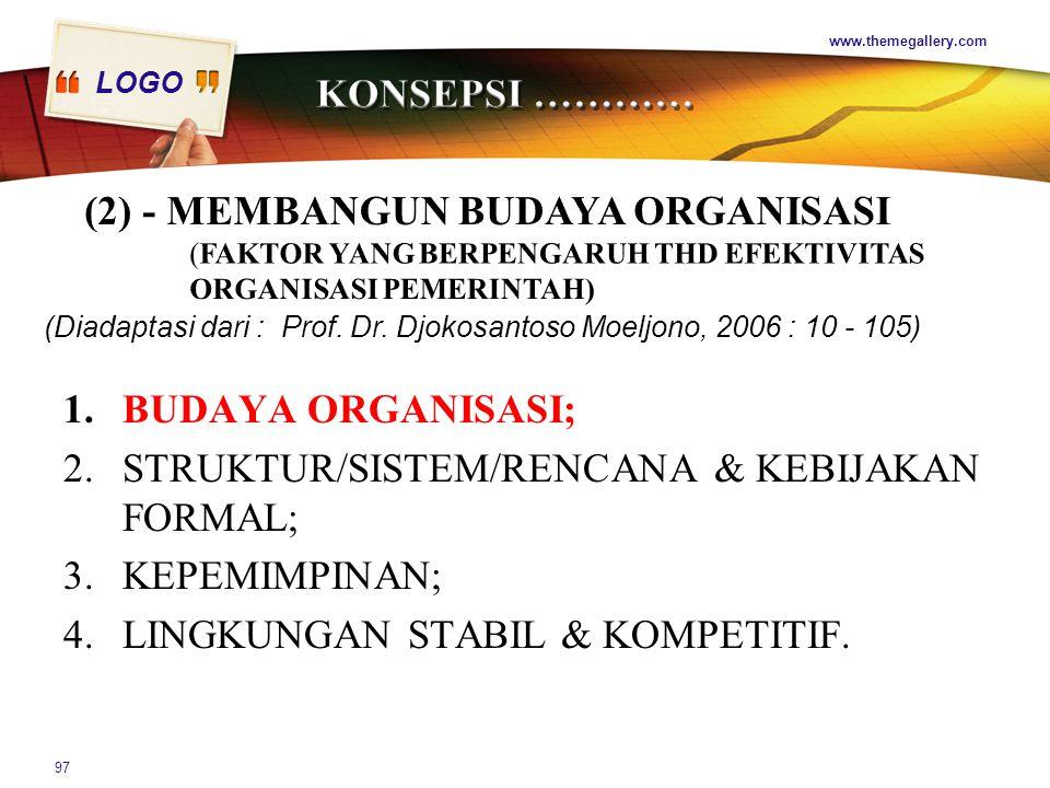 (2) - MEMBANGUN BUDAYA ORGANISASI