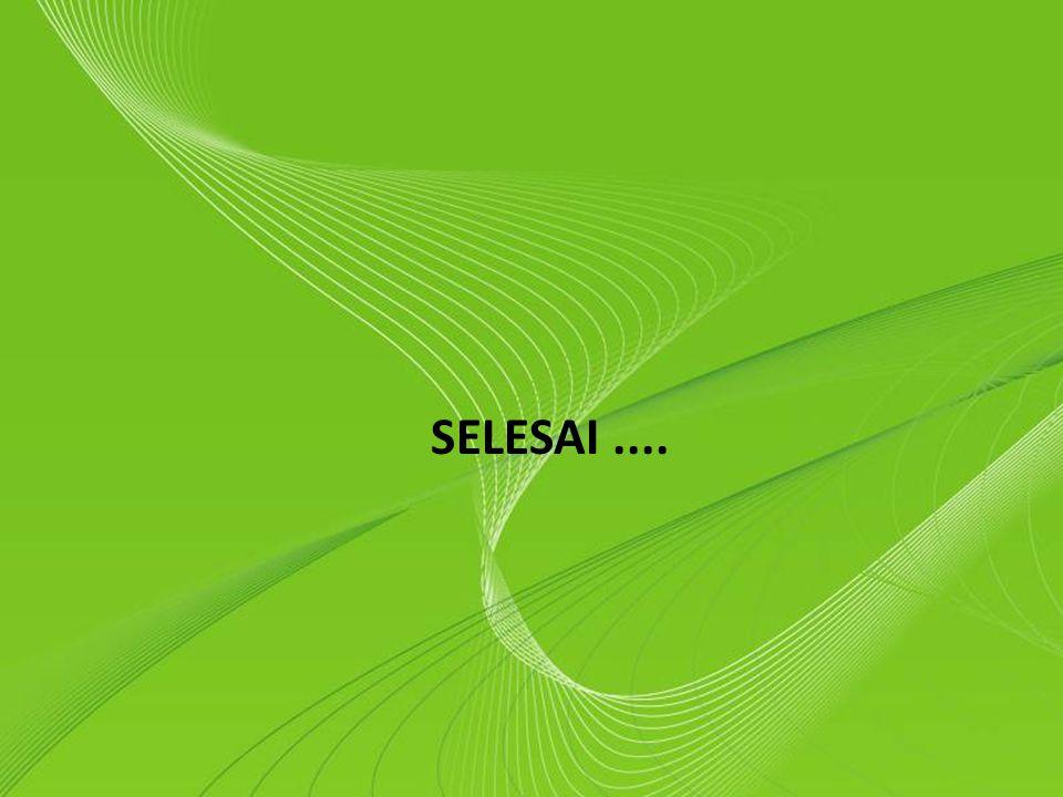 SELESAI .... Powerpoint Templates