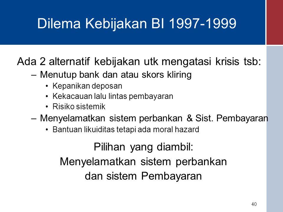 Menyelamatkan sistem perbankan
