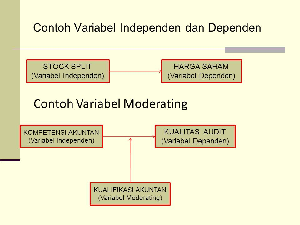 Contoh Variabel Moderating