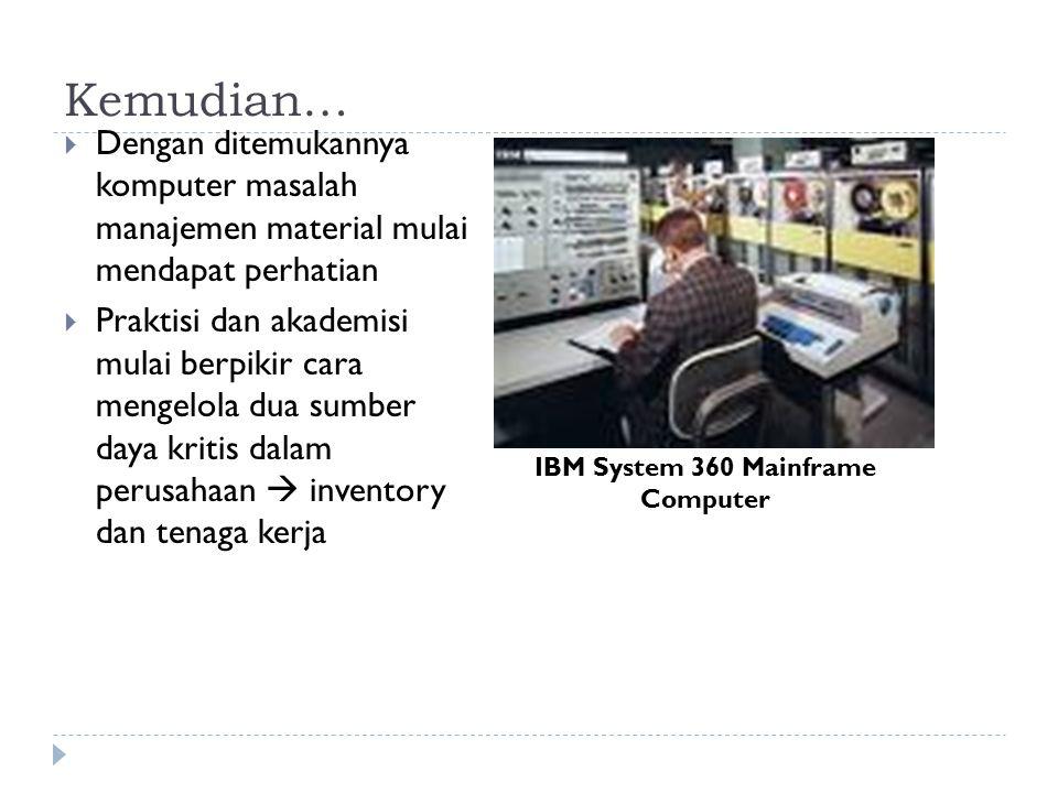 IBM System 360 Mainframe Computer