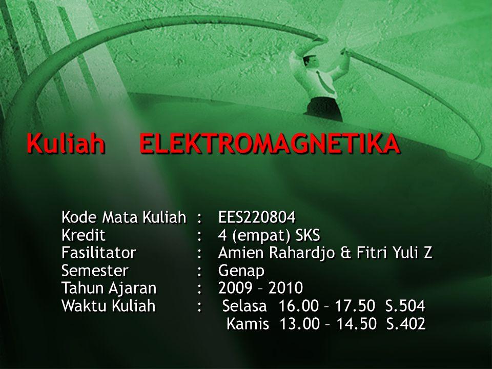 Kuliah ELEKTROMAGNETIKA