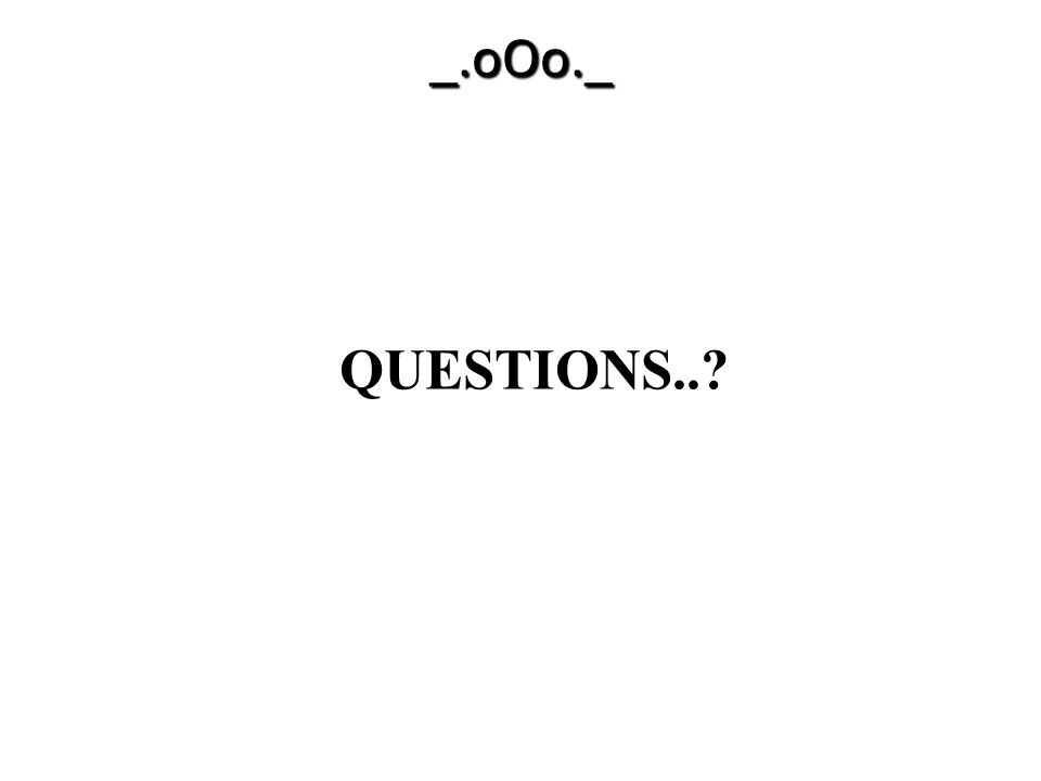 _.oOo._ QUESTIONS.. Teaching Tips