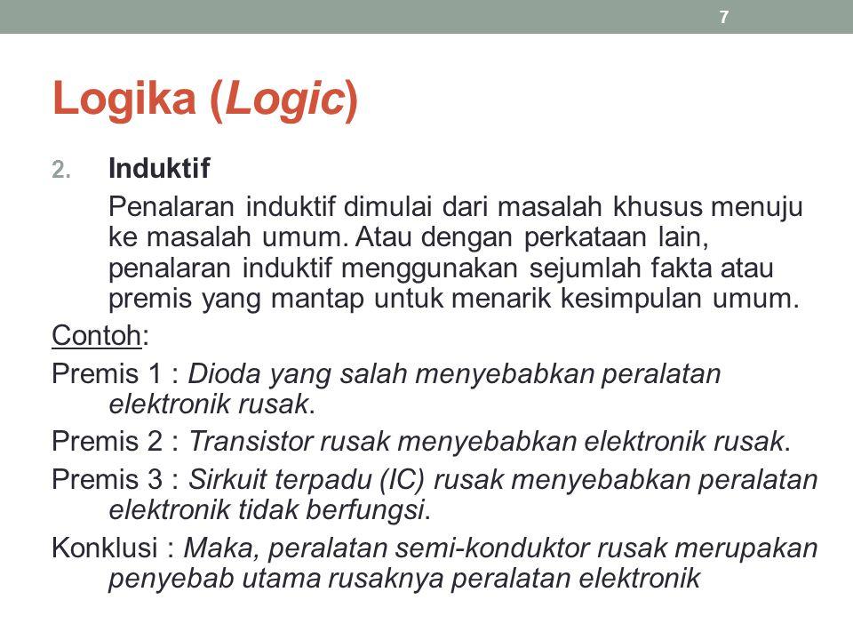 Logika (Logic) Induktif