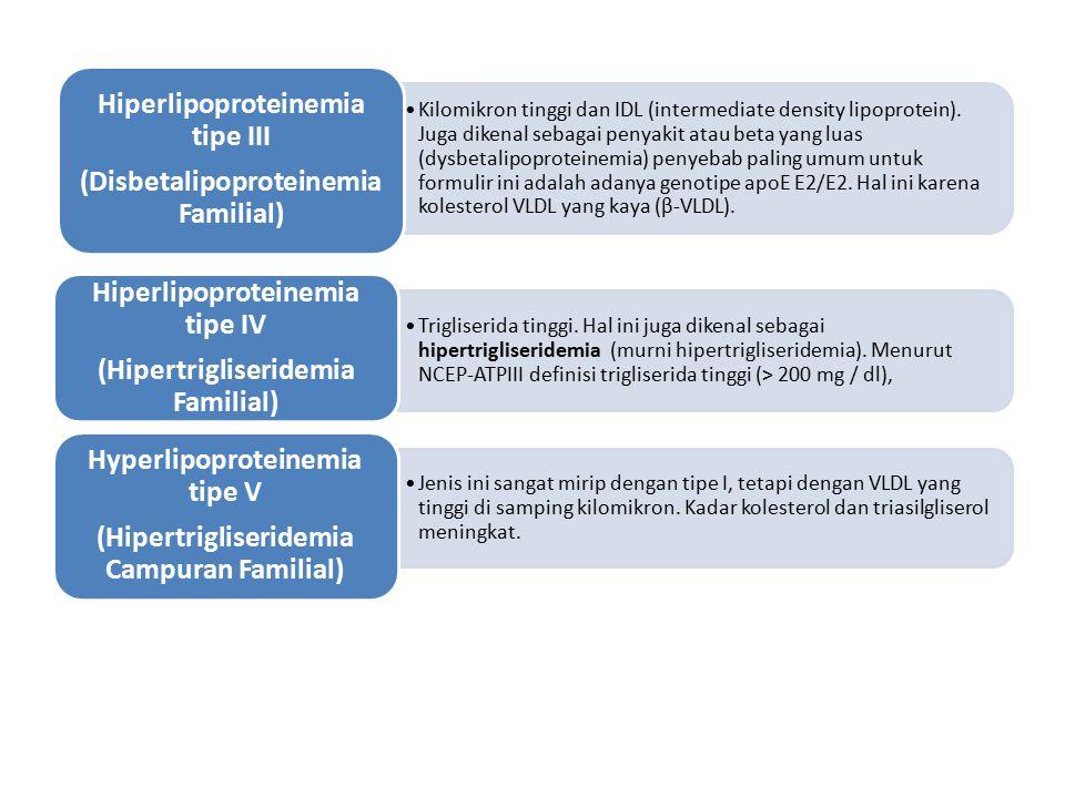 Hiperlipoproteinemia tipe IV
