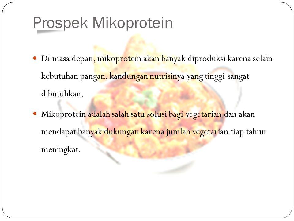 Prospek Mikoprotein