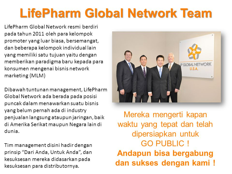 LifePharm Global Network Team