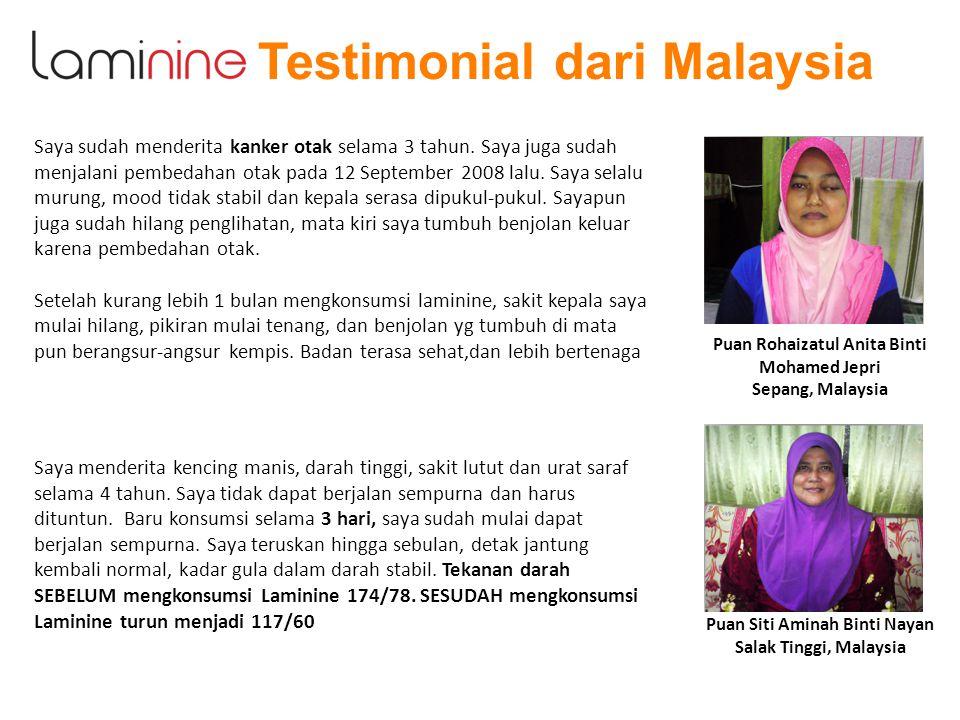 Puan Rohaizatul Anita Binti Puan Siti Aminah Binti Nayan